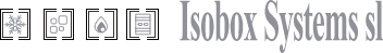 Isobox Systems – Salas blancas Logo